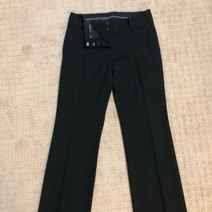 Ann Taylor straight leg (not tight) black slacks
